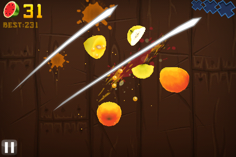 Fruit Ninja ligt morgen in de Android Market
