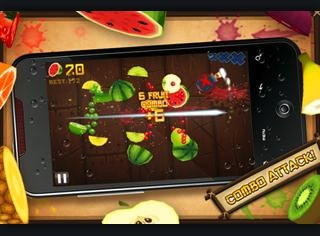 Fruit Ninja nu te downloaden in de Android Market
