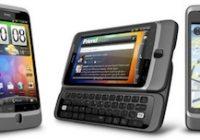 Specificaties van de HTC Desire HD en HTC Desire Z (vergelijking)