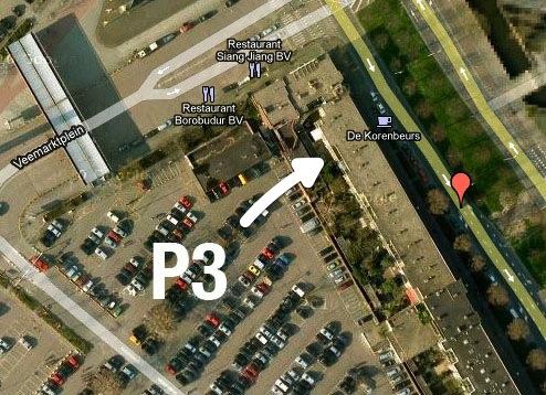 korenbeurs-parkeren