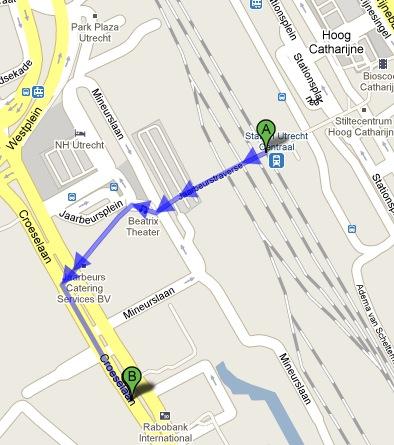 korenbeurs route