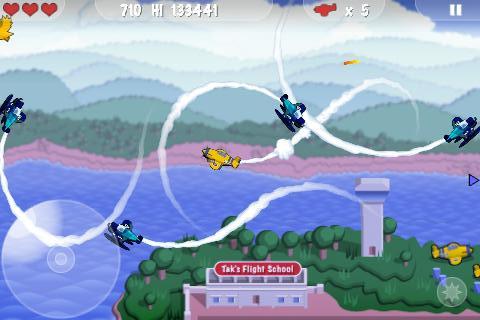 MiniSquadron: schiet vliegtuigen en vogels uit de lucht