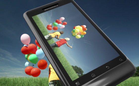 Motorola Milestone 2 in Groot-Brittannië te koop