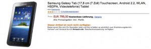 Samsung Galaxy Tab Amazon