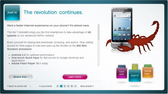 T-Mobile G2: de revolutie gaat door