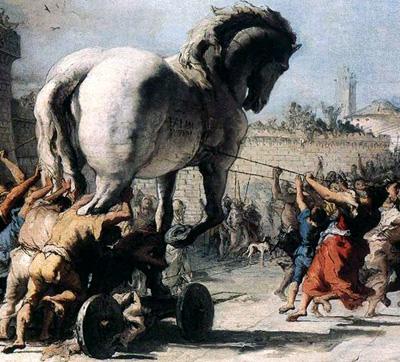 Russen opnieuw slachtoffer van Trojaans paard