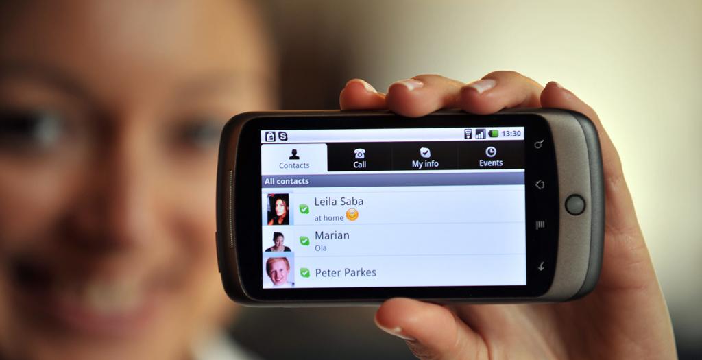 Skype voor Android in de Market