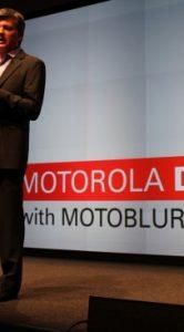 aankondiging van motorola defy
