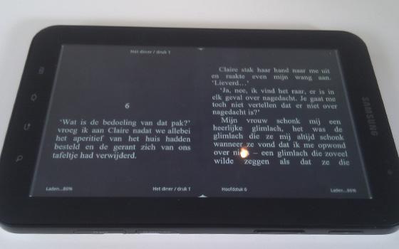 Samsung Galaxy Tab: de ideale e-reader?