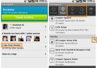 Foursquare 2.0 toont aanbevolen uitjes en plaatsen in de omgeving
