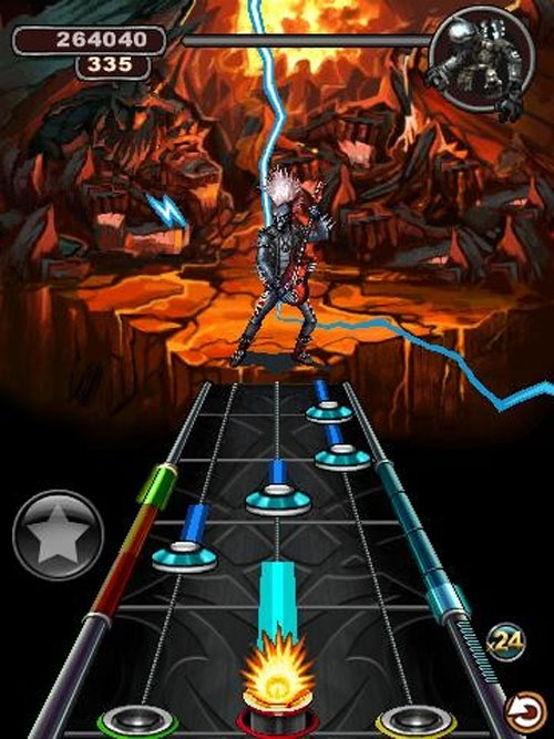 Glu komt met Guitar Hero voor Android: Warriors of Rock