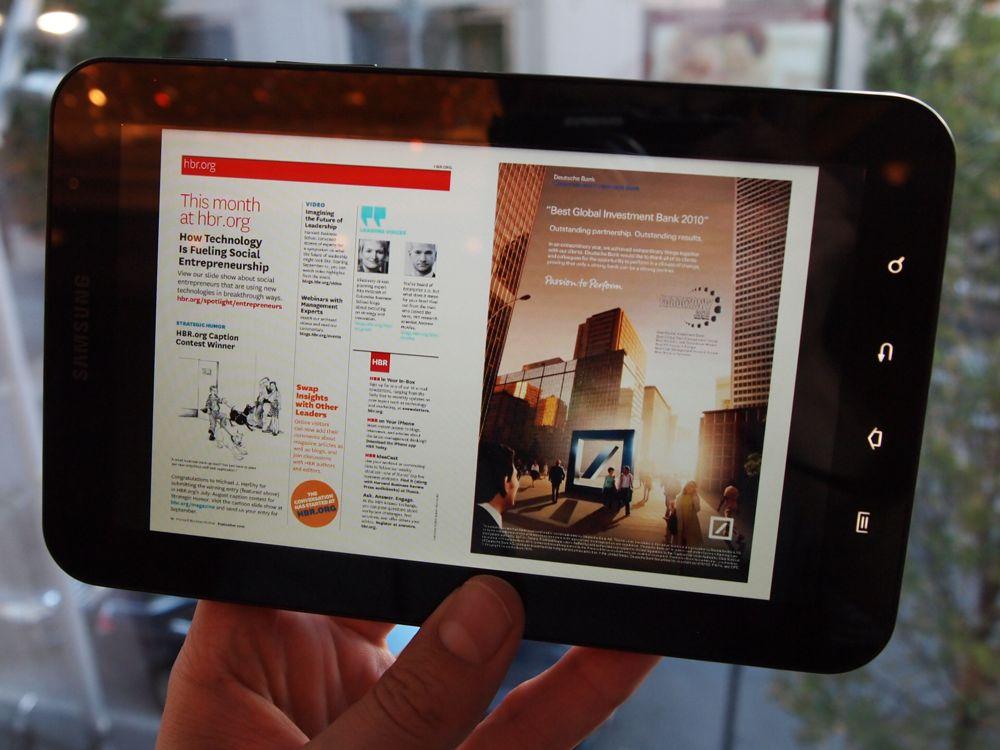 Samsung Galaxy Tab krijgt sterk Gorilla Glass