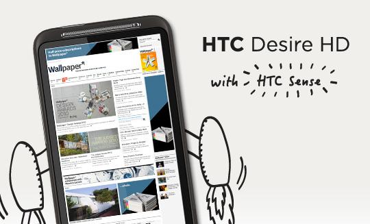 HTC brengt update uit voor Desire HD