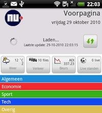 NU voor Android krijgt meer stabiliteit in update 2.1