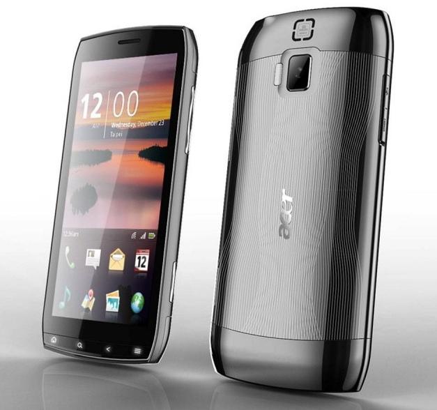 Acer Slash: nieuwe telefoon met 4,8 inch touchscreen
