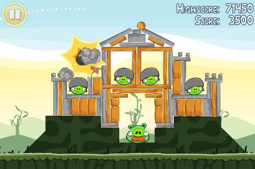 Speciale Angry Birds-versie voor telefoons met lage specs op komst