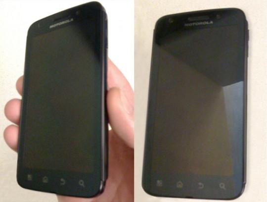 Foto's van de Motorola Olympus gelekt?