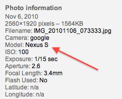 Nexus S maakt eerste foto's