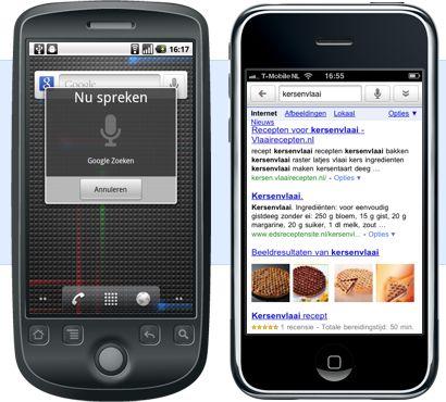 Nederlandse spraakherkenning voor Android: nog niet foutloos