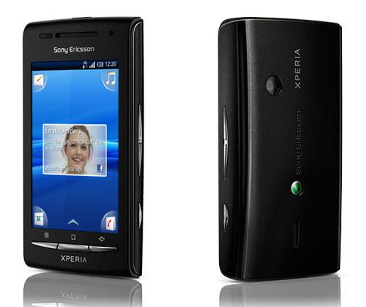 Sony Ericsson start met Android 2.1-update voor Xperia X8