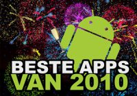 De beste Android-applicaties van 2010: de uitslag