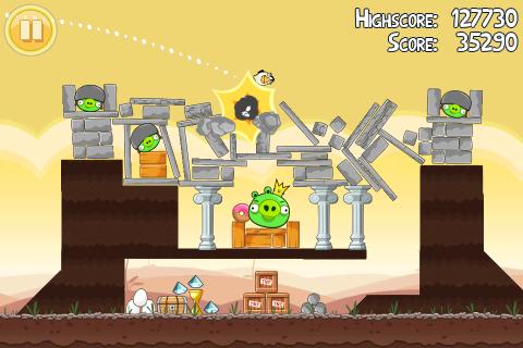 Angry Birds krijgt in app-aankopen