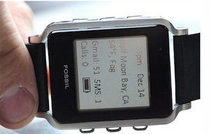 fossil android horloge