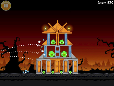 Angry Birds Seasons in de Android Market