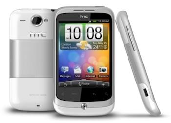 Froyo-update voor HTC Wildfire start vandaag in Nederland