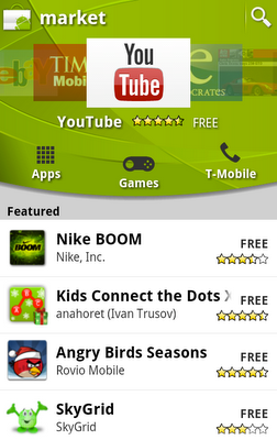De hoogtepunten van de nieuwe Android Market