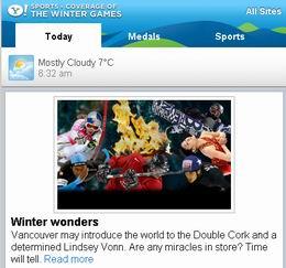 Yahoo maakt mobiele website voor Olympische Spelen