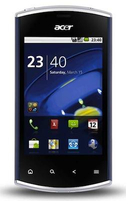 Acer presenteert de Liquid Mini als compacte variant op een bekend thema (CES 2011)