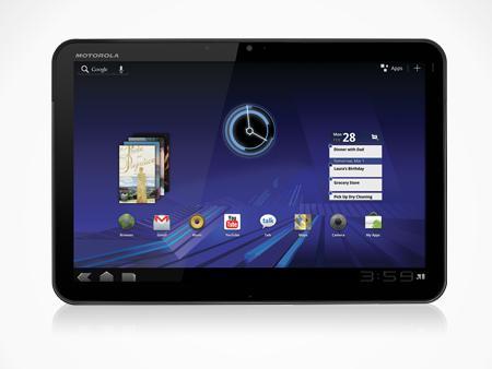 Motorola Xoom Android-tablet heeft als eerste een bijzondere nieuwe sensor