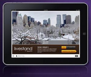 Yahoo LiveStream_iPad