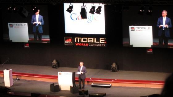 Eric Schmidt op MWC 2011