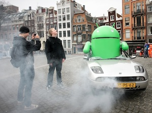 android landing amsterdam