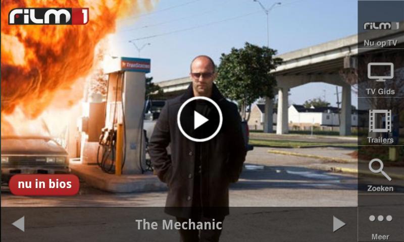 Film1-applicatie: trailers, tv-gids en filminformatie ...