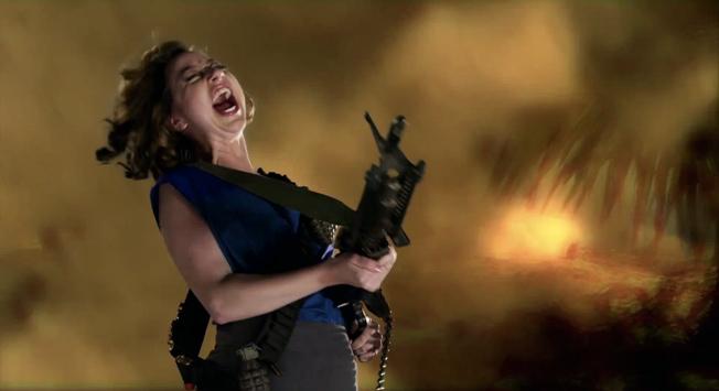 Kristen Schaal schittert in promo's van Sony Ericsson Xperia Play