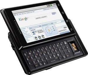 Motorola Milestone krijgt Froyo-upgrade