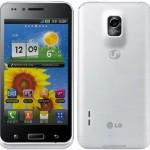 LG Optimus voorzijde - achterzijde
