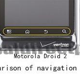Motorola Milestone 3 - knoppen