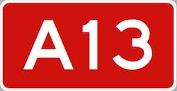 File-applicatie voor A13 gaat automobilisten helpen