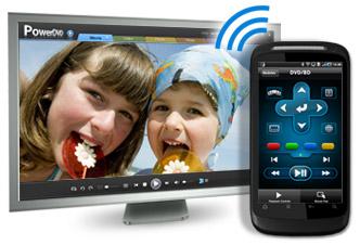 Maak van je Android-telefoon een afstandsbediening voor PowerDVD