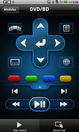 PowerDVD Remote_Android_2