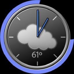 XDA-lid komt met compacte widget voor weer, accu en tijd