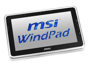 MSI onthult WindPad 100A op Computex