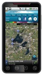 Weather Central start met MyWeather website en bijbehorende Android-app