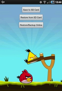angry birds backup android