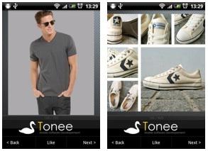 Clothing-app voor Android: kledingadvies voor mannen