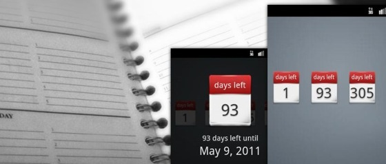 days left android